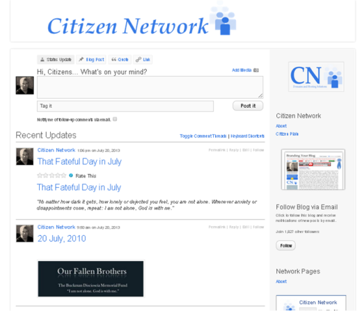 Citizen Network screenshot